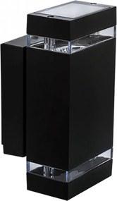 Kanlux Zew 22440 Aplice pentru iluminat exterior negru aluminiu 2 x GU10 max. 35W IP44