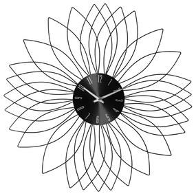 Ceas de perete JJA Sunshine negru