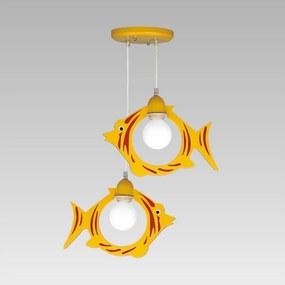 Lampa copii KRANAS 2xE27/40W/230V