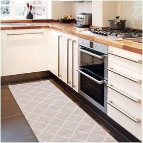 Covor de bucătărie, foarte rezistent Webtapetti Lattice Sand, 60 x 220 cm