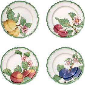 Set de farfurii, 4 piese, colecția French Garden Modern Fruits - Villeroy & Boch