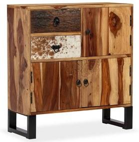 244935 vidaXL Servantă din lemn masiv de sheesham, 70 x 30 x 80 cm