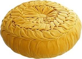 Perna podea Velvet galbena 40x19 cm