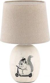 Rábalux Dorka 4604 Veioze, Lampi de masă crem bej E14 1X MAX 40W