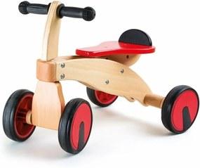Motocicletă din lemn pentru copii Legler Red Racer