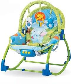 Balansoar bebe cu vibratii si sunete