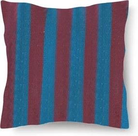 Perna din bumbac pentru leagan sau hamac, 45x45cm, albastru/mov
