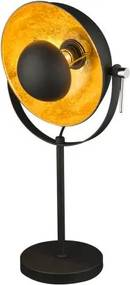 Veioza stil Retro / Lampa de masa moderna Xirena neagra