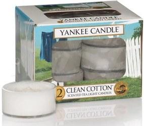 Yankee Candle ceai parfumat lumânare de bumbac Clean