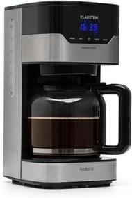 Klarstein Arabica 900W, aparat de cafea, EasyTouch Control, argintiu/negru