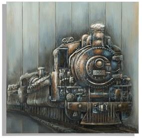 Tablou Train 80x3.7x80