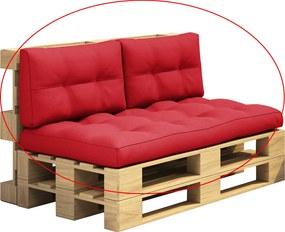 Perne pentru mobilier din paleţi, rosu, ARYO