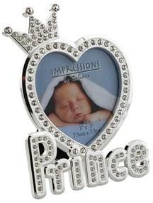 Rama Foto Argintata in forma de Inima 492