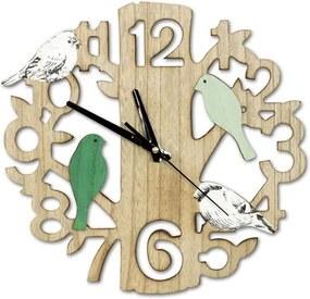 Ceas de perete Păsări, d. 33,5 cm