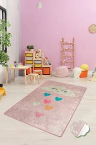 Covor pentru copii Baby Cloud Roz - 140 x 190 cm