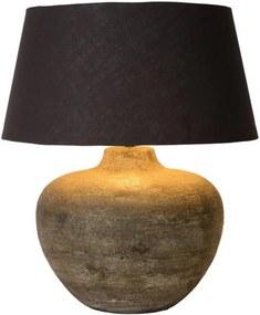Lucide 47505/81/97 - Lampă de masă RAMSES 1xE27/60W/230V Patină maro