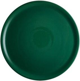 Farfurie din porțelan pentru pizza Brandani Pizza, ⌀ 31 cm, verde