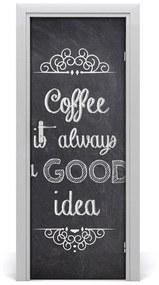 Autocolante pentru usi Auto-adezive colaj ușă de cafea