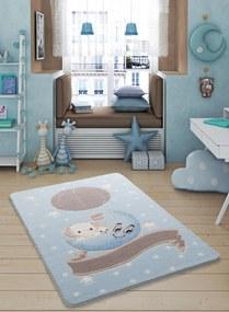 Covor pentru copii Moonlight Albastru Deschis 100 x 150 cm