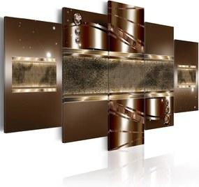 Tablou - Brown mirage 100x50 cm