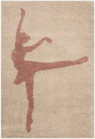 Covor pentru copii Zala Living Ballerina, 120 x 170 cm