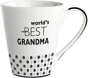 Cană porțelan KJ Collection World's best grandma, 300 ml