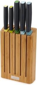 Set cuțite cu suport din bambus Joseph Joseph Elevate