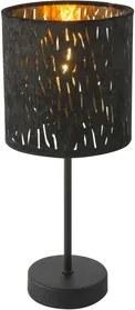Veioza 1xE14 negru Tuxon Globo Lighting 15264T