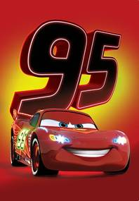 Covor pentru copii Disney CARS 018 80x120 cm
