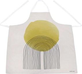 Butter Kings Sorț de bucătărie Rising sun, 84 x 81 cm