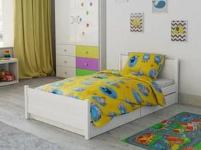 Petr Smolka Lenjerie de pat bumbac pentru pătut Oita veselă galben
