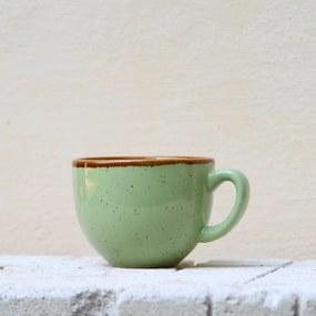 Ceasca Gardena din ceramica verde 7 cm