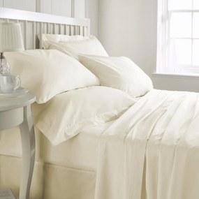 Cearceaf de pat, densitate 600TC - Ivory