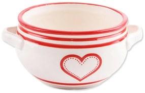 Orion Bol din ceramică KRAJAC 700 ml Inimă