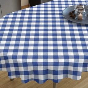 Goldea față de masă decorativă  menorca- model 015 - ovale 80 x 140 cm