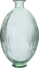Vaza Lines din sticla reciclata 44 cm