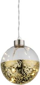 Globo 23249-18 - Decoratiuni de craciun TODD 4xLED/0,04W/3V auriu