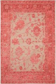Covor Vintage Frencie Flora Rosu - 160x235 cm