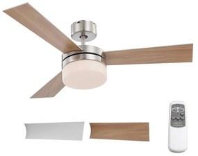 Globo 03812 - Ventilator de tavan ALANA 2xE14/40W/230V + Telecomandă