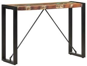 285946 vidaXL Masă consolă, 110 x 35 x 76 cm, lemn masiv reciclat