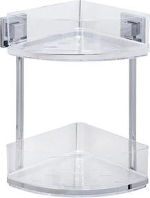 Etajeră pentru baie Wenko cu sistem de prindere Vacuum-Loc, 19,5 x 28 cm