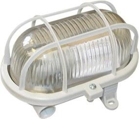 Kanlux Milo 70523 Aplica ovala gri transparent 1 x E27 max. 60W 11 x 16,5 x 10 cm