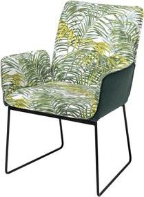 Fotoliu Birdie, Green, Poliester 60x90x65 cm
