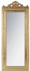 Oglinda din rasina Vintage Gold 35 x 2 x 90 cm