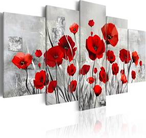 Tablou - Scarlet Cloud 100x50 cm