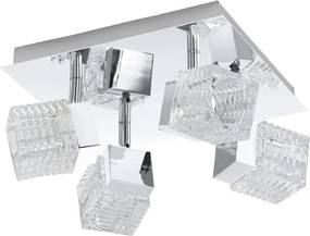Eglo 92664 - LED Lampa spot QUARTO 4xLED/4,5W/230V