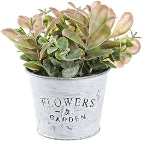 Ghiveci cu flori artificiale Amanda 10x10x18h