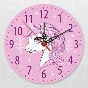 Ceas de perete - Sunt un unicorn
