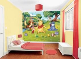 Walltastic Medvídek Pů - fototapet pe perete 305x244 cm