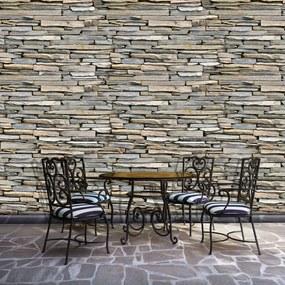 Fototapet - Perete din piatră si cărămizi (254x184 cm), în 8 de alte dimensiuni noi